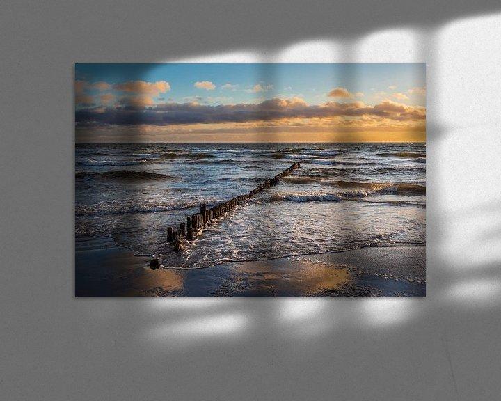 Beispiel: Ostseeküste auf der Insel Moen in Dänemark von Rico Ködder