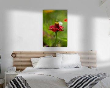 Bloemenwereld 2 van Dirk Herdramm