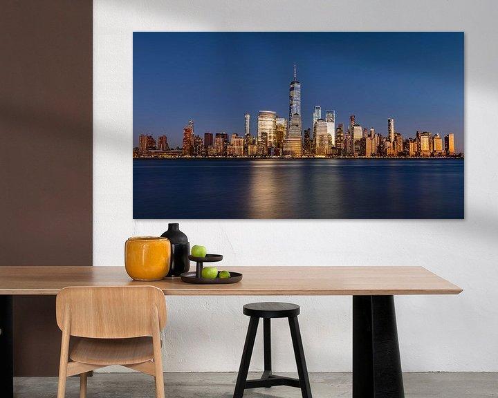 Sfeerimpressie: New York Panorama Zilver van Adelheid Smitt