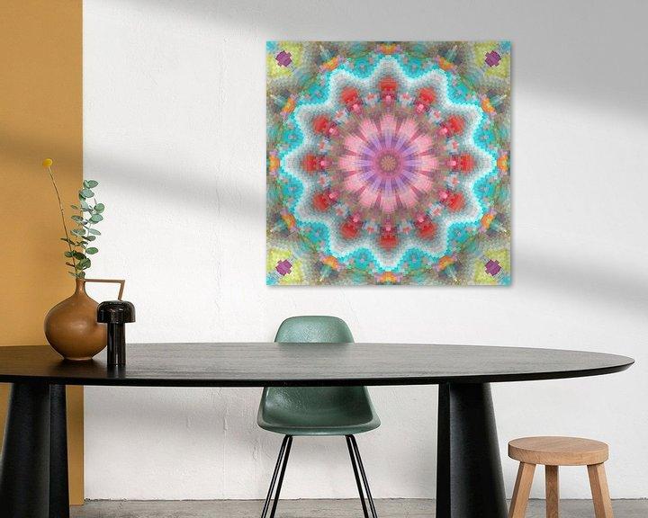 Sfeerimpressie: Mandala lentekleuren van Marion Tenbergen