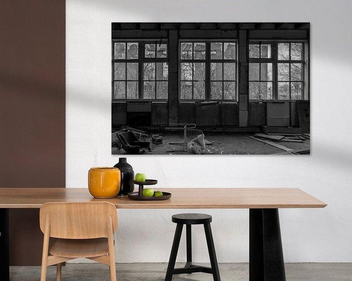 Beispiel: Urban Factory Schwarz Weiß von Anjo ten Kate