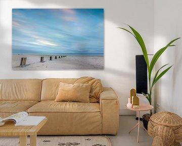 Het strand van Vlieland sur Richard van der Zwan