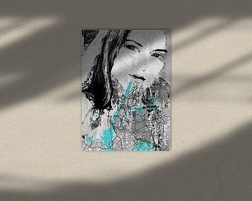 The girl in New York city von PictureWork - Digital artist