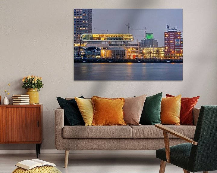 Sfeerimpressie: Holland Amerikakade, Rotterdam van Frans Blok