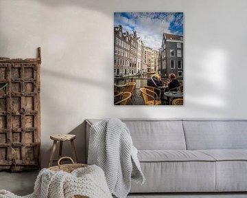Kanalhäuser Amsterdam von Martijn Tilroe