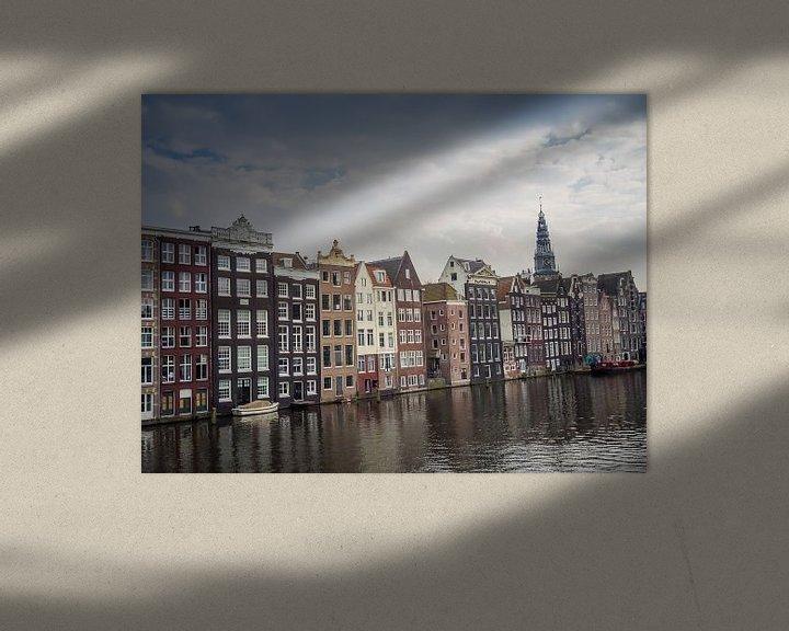 Beispiel: Kanalhäuser Amsterdam von Martijn Tilroe