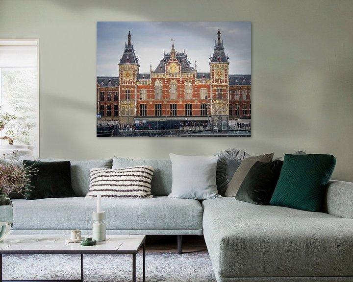 Beispiel: Amsterdamer Hauptbahnhof von Martijn Tilroe