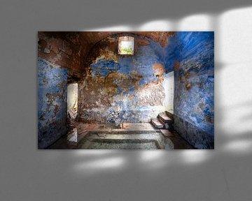 Verlassenes blaues Spa. von Roman Robroek