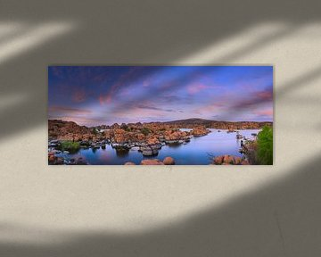 Sunset at Watson Lake, Prescott, Arizona