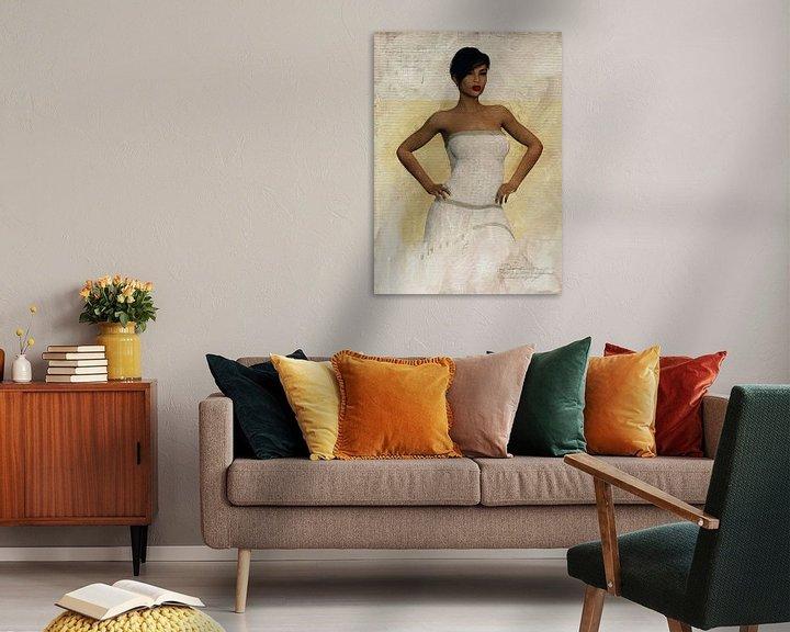 Sfeerimpressie: Vrouw van de wereld - Portret van Laverne van Jan Keteleer