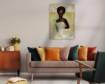 Vrouw van de wereld - Afrikaanse vrouw
