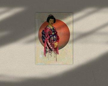 Vrouw van de wereld - Aziatische vrouw in traditionele kleding