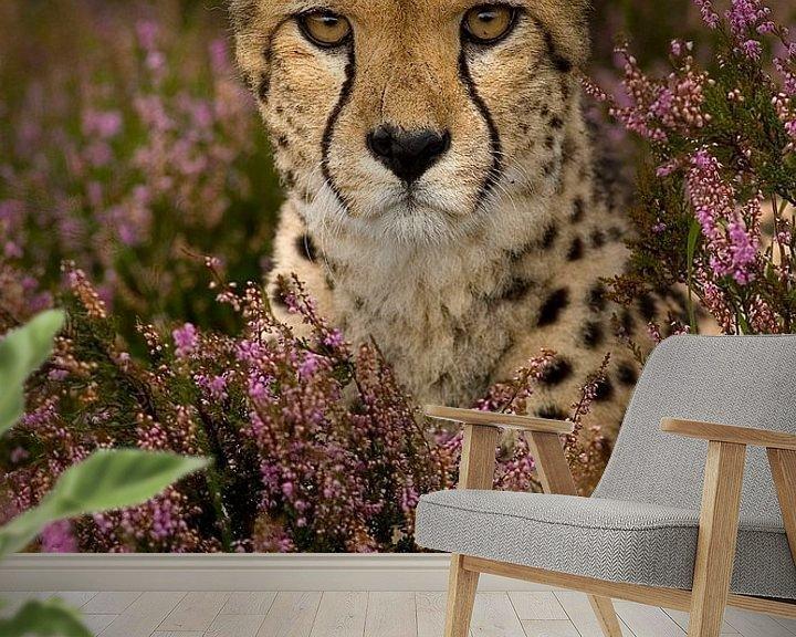 Beispiel fototapete: Blumenmädchen von Eye to Eye Xperience By Mris & Fred