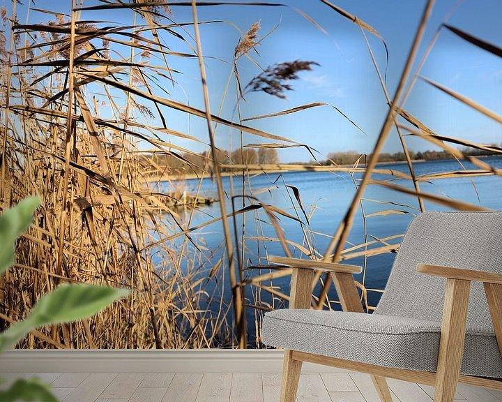 Sfeerimpressie behang: Een stukje holland van Michiel piet