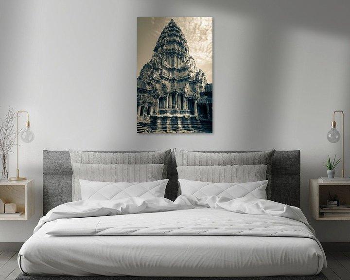 Sfeerimpressie: Toren van de Angkor Wat tempel, Cambodja van Rietje Bulthuis