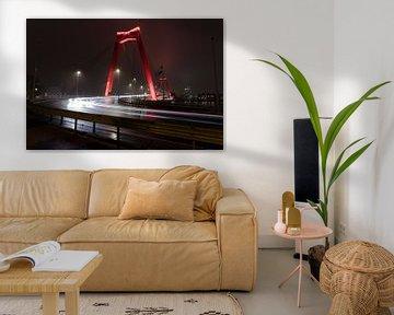 Willemsbrug Rotterdam von Gertjan Hesselink