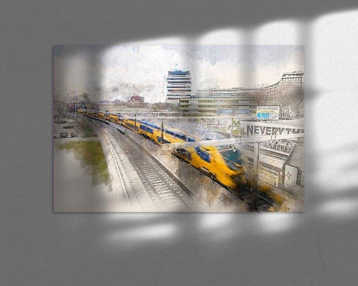 Beispiel: Hofplein Zug von Arjen Roos