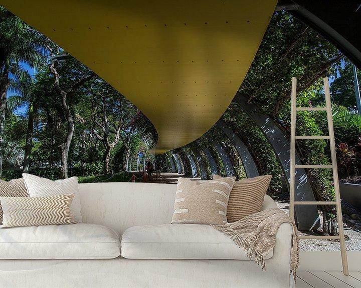 Sfeerimpressie behang: Brisbane, Australie van Willem Vernes