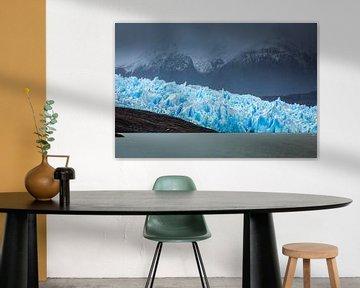 Grey gletsjer in Patagonië van Chris Stenger