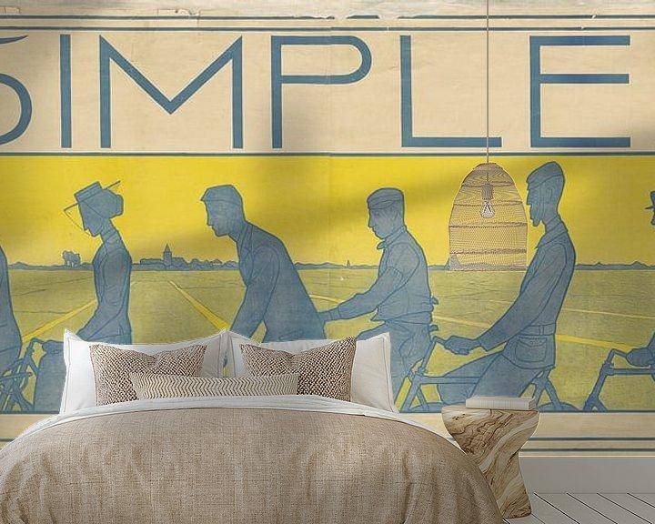 Impression: Simplex Snel Sterk, Ferdinand Hart Nibbrig, 1897