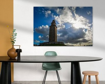 Herkules Turm in A Coruña von Sanne Lillian van Gastel