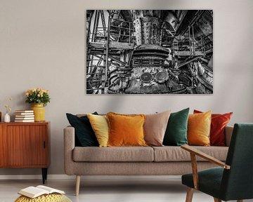 Industriële machinerie van Okko Huising - okkofoto