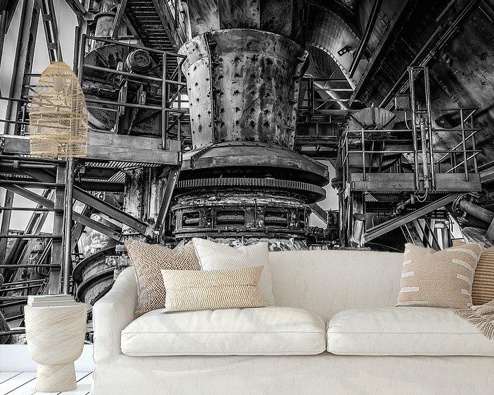 Sfeerimpressie behang: Industriële machinerie van Okko Huising - okkofoto