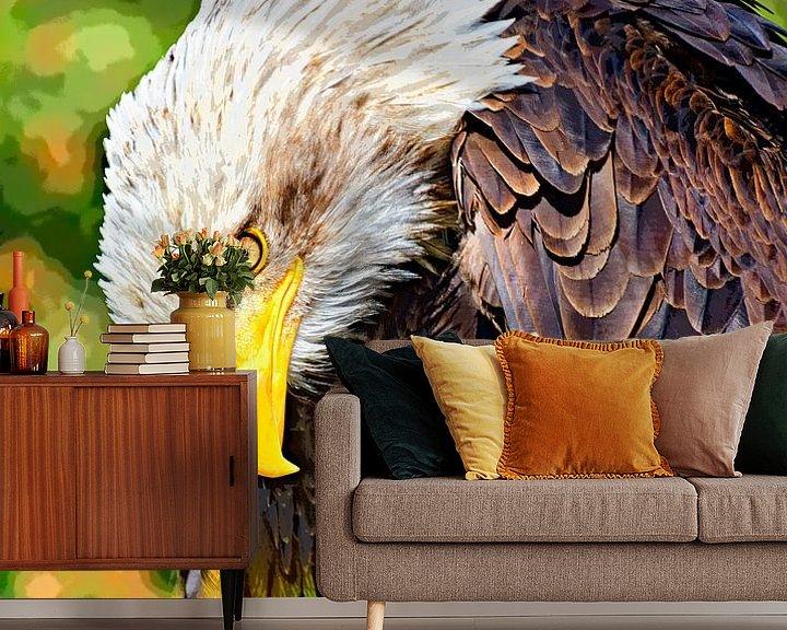 Beispiel fototapete: Weißkopfseeadler von Leopold Brix