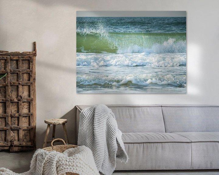 Sfeerimpressie: Golven op zee van Martijn Tilroe