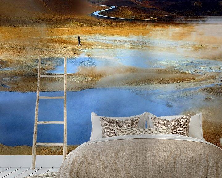 Beispiel fototapete: Namajfall  Island von Patrick Lohmüller
