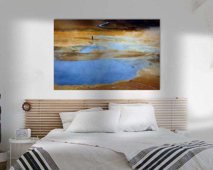 Beispiel: Namajfall  Island von Patrick Lohmüller