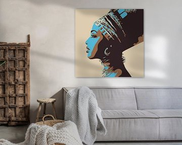 Egyptian Headwear von Harry Hadders