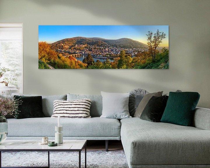 Beispiel: Heidelberg Panorama von Uwe Ulrich Grün