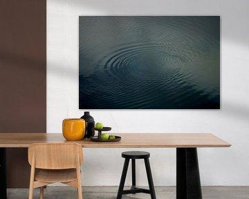 Water in circle van De Rover