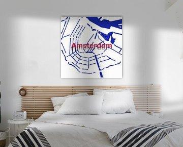 Amsterdamse Grachten van Patrick Herzberg