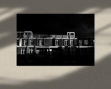 Ein sonniger und bewölkter Tag in Amsterdam von Jason King