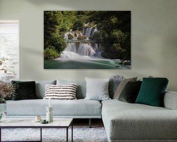 Prachtige waterval van Steve Mestdagh