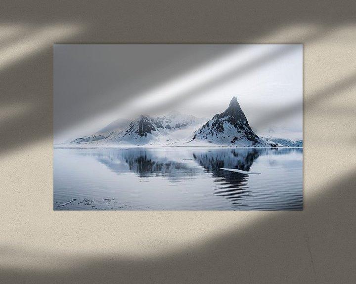 Sfeerimpressie: Het fragiele noordelijke poolgebied op Spitsbergen van Gerry van Roosmalen