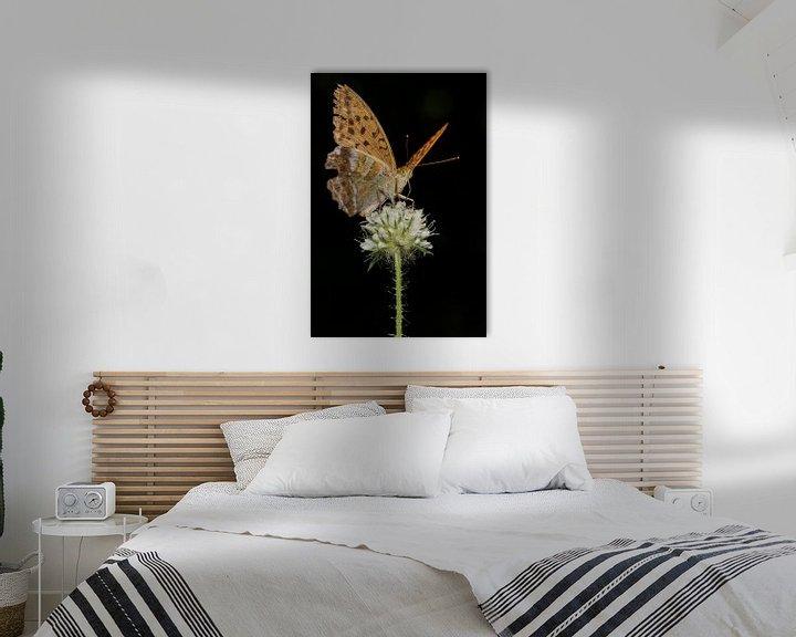 Sfeerimpressie: Kaisermantel op bloei in staand formaat van Uwe Ulrich Grün
