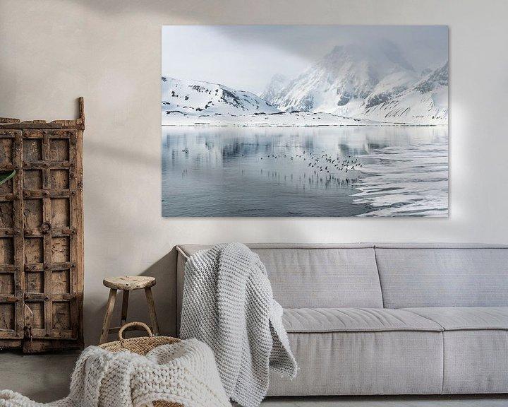 Sfeerimpressie: Vogels vergezellen ons op onze reis door Spitsbergen van Gerry van Roosmalen