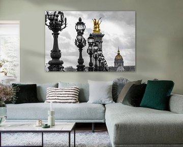 Paris, Pont Alexandre-3 von Patrick Verhoef
