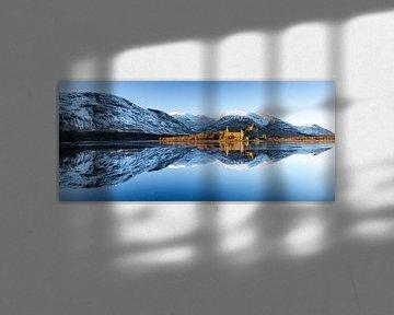 Kilchurn Castle, Schotland van Ton Drijfhamer