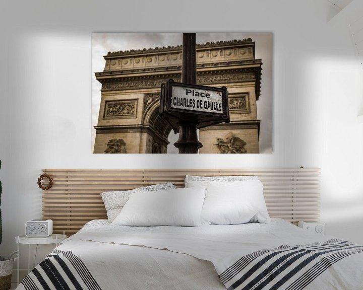 Beispiel: Paris, Arc de Triomphe, Place Charles de Gaulle. von Patrick Verhoef