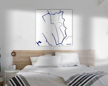 Waterkaart Utrecht van Patrick Herzberg