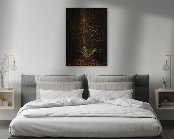 Lonely fern van Jakub Wencek