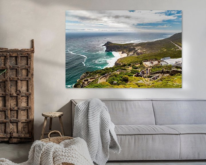 Sfeerimpressie: Kaap de goede hoop, Zuid-Afrika van Willem Vernes