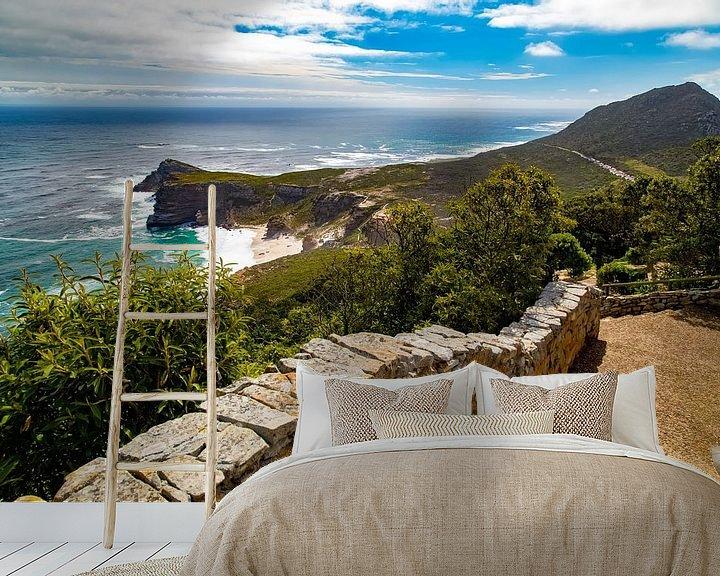 Sfeerimpressie behang: Kaap de Goede Hoop, Zuid-Afrika van Willem Vernes