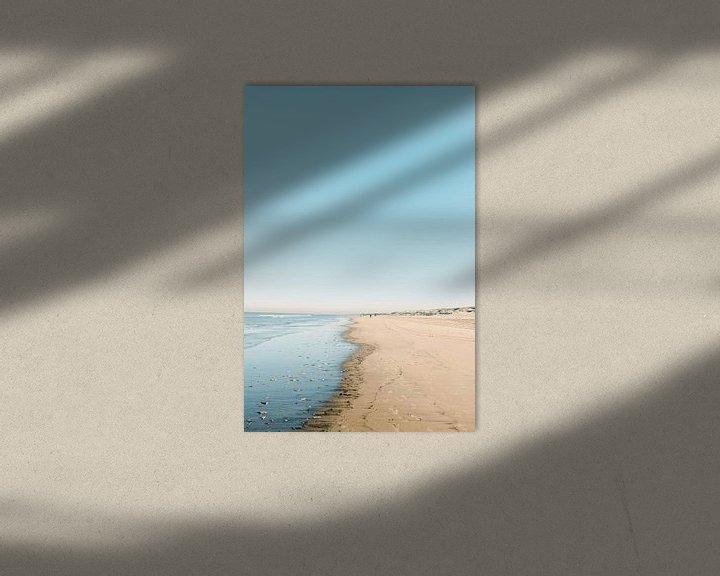 Beispiel: Noordwijk aan Zee   Strandfotografie Der niederländische Sommertag von Raisa Zwart
