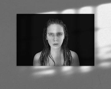 Wetlook in black and white von Elianne van Turennout