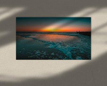 Domburg laag water 5 van Andy Troy